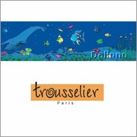 Trousselier theme cylinder rainbow fish (after 2007)