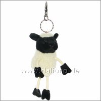 Sheep - Finger Puppet Key Ring