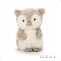 Little owl - cuddly toy from Jellycat
