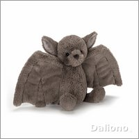 Bashful bat small - cuddly toy from Jellycat