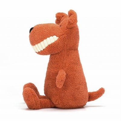 Toothy mutt - cuddly toy from Jellycat