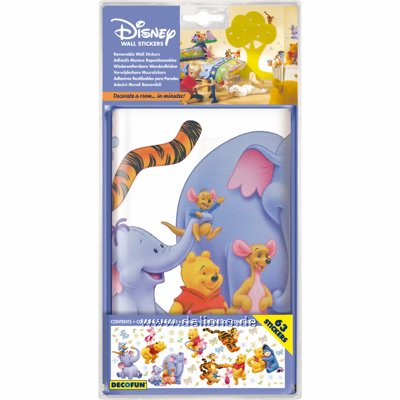 winnie pooh heffalump wandsticker decofun wandtattos. Black Bedroom Furniture Sets. Home Design Ideas