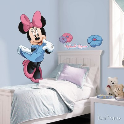 Minnie Maus Wandbild - Micky Maus & Freunde - RoomMates for KiDS ...