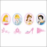 Disney Princess mini Wanddekoration - Decofun