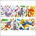 My Friends Tigger and Pooh Wandsticker - Decofun