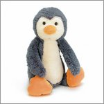 Bashful penguin medium - cuddly toy from Jellycat
