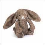 Bashful pecan bunny small - cuddly toy from Jellycat