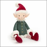 Leffy elf - cuddly toy from Jellycat