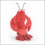 Larry Lobster - cuddly toy from Jellycat