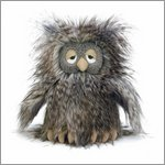 Orlando Owl - cuddly toy from Jellycat